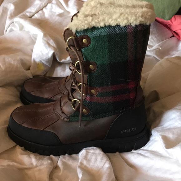 Ralph Lauren Shoes   Polo Snow Boots